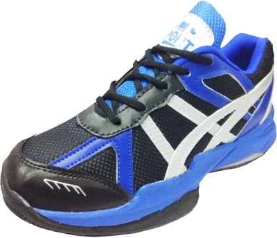 Port ZackKnight Badminton Shoes(Black)