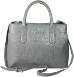 Cross Women Grey PU Shoulder Bag