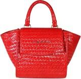 Cross Women Red PU Messenger Bag