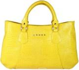 Cross Women Yellow PU Shoulder Bag