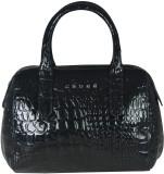 Cross Women Black PU Messenger Bag
