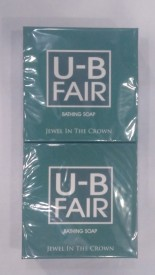 UB FAIR Bathing Soap [Pack of 2](150 g, Pack of 2)