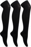 EIO Girl's Thigh Length Socks (Pack of 3...