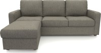 Urban Ladder Apollo Compact Solid Wood 3 + 1 Mist Sofa Set(Configuration - Straight)
