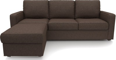 Urban Ladder Apollo Compact Solid Wood 3 + 1 Mocha Sofa Set
