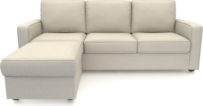 Urban Ladder Apollo Solid Wood 3 + 1 Pearl Sofa Set