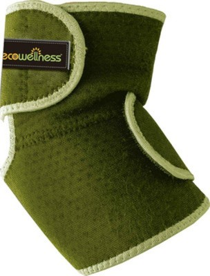 EcoWellness Slip-in with Terry Cloth Elbow Support (Free Size, Green)