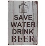 Lifestyle-You (20x30 Cms) Save Water Dri...