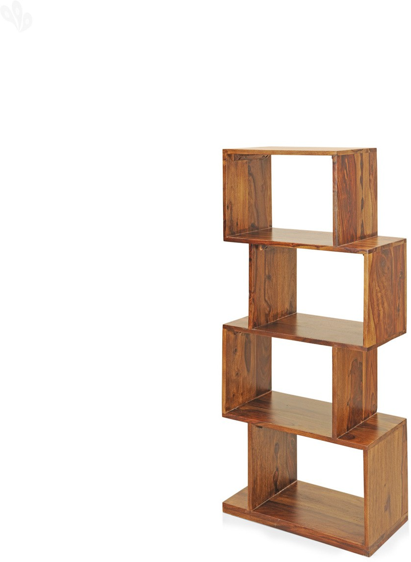 View Royal Oak Jade Solid Wood Open Book Shelf(Finish Color - Mahogony) Furniture (Royal Oak)