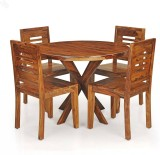 Royal Oak Sapphire Solid Wood Dining Set...