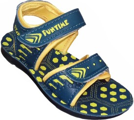 Fashion Gateway Boys & Girls Buckle Sports Sandals(Green)