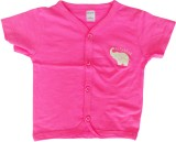 Ahad Top For Baby Girl's Coton Gathered ...