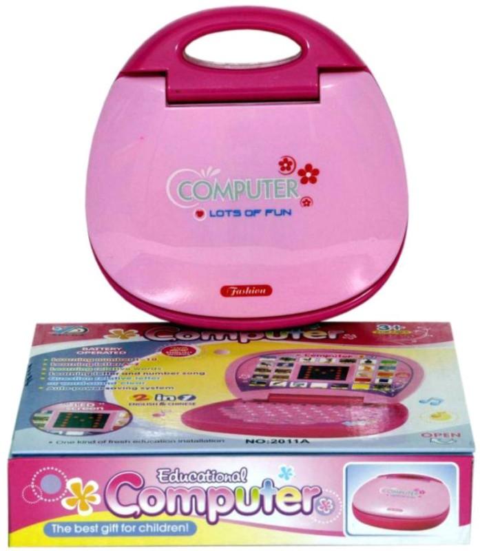 vbenterprise Latest Kids Educational Laptop (Pink)(Pink)