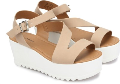 Call It Spring Women Bone Wedges at flipkart