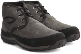 Woodland Leather Boots (Grey)
