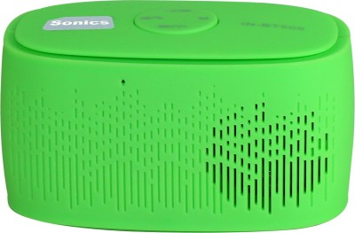 Sonics IN-BT509 Portable Bluetooth Mobile/Tablet Speaker(Green, 2.1 Channel)