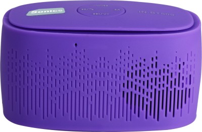 Sonics IN-BT509 Portable Bluetooth Mobile/Tablet Speaker(Purple, 2.1 Channel)