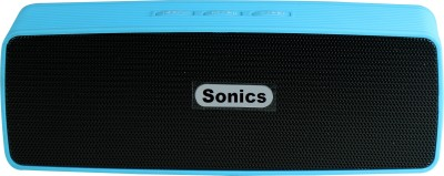 Sonics SL-BS114 FM Portable Bluetooth Mobile/Tablet Speaker(Blue, 2.1 Channel)