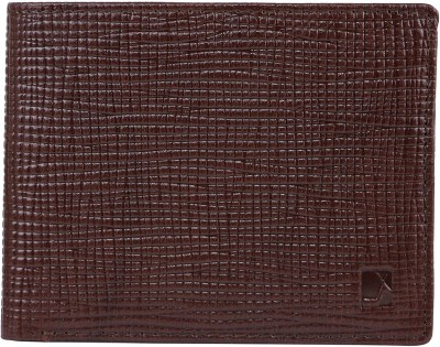 Da Milano Men Brown Genuine Leather Wallet(4 Card Slots)