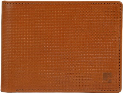 Da Milano Men Brown Genuine Leather Wallet(6 Card Slots)