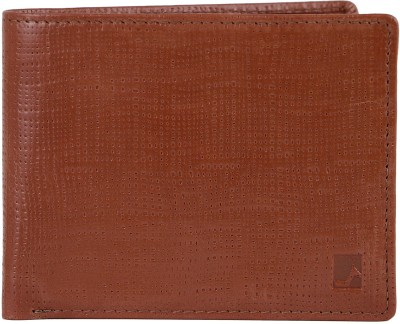 Da Milano Men Brown Genuine Leather Wallet(4 Card Slots)