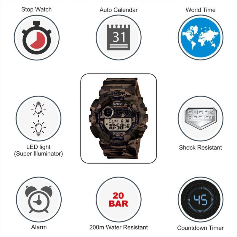 Casio G513 G Shock Digital Watch For Men