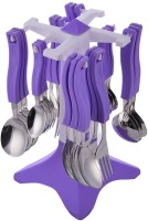 Vivir Galaxy Premium Stainless Steel Cutlery Set, 26-Pieces, Purple Stainless Steel Cutlery Set(Pack of 26)