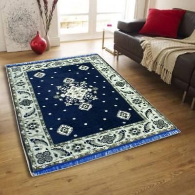 HOME LIVING Multicolor Chenille Carpet(155 cm  X 215 cm) at flipkart