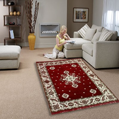 New Style Mills Multicolor Chenille Carpet(155 cm  X 215 cm) at flipkart