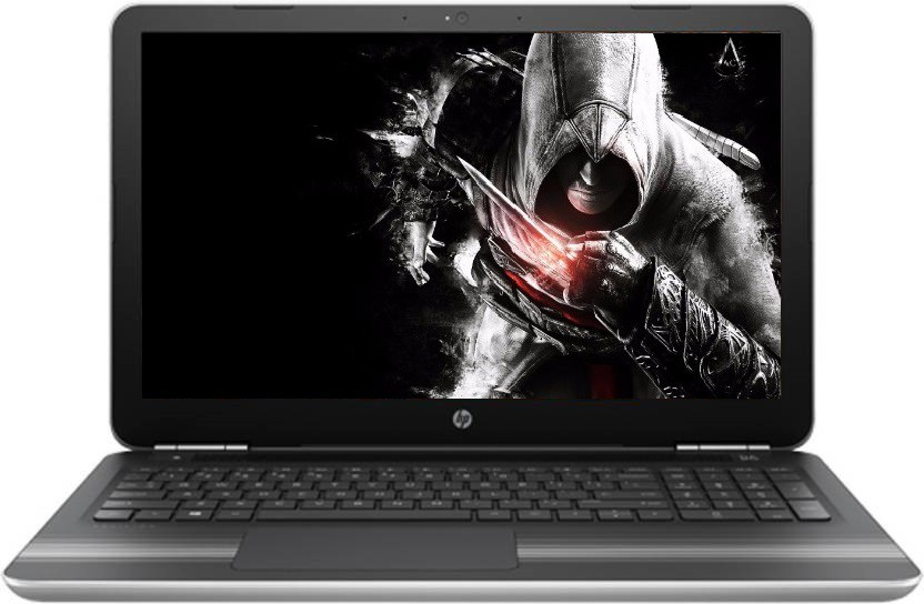 HP Pavilion Core i5 7th Gen - (4 GB/1 TB HDD/Windows 10 Home/4 GB Graphics) 15-AU624TX Notebook(15.6 inch, SIlver)   Laptop  (HP)