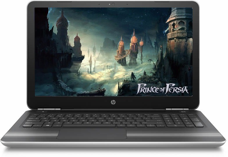 HP Core i7 7th Gen - (8 GB/1 TB HDD/Windows 10 Home/4 GB Graphics) 15-AU628TX Laptop(15.6 inch, Natural SIlver, 2.03 kg) image