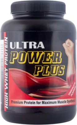 ULTRA POWER PLUS Whey Protein(1 kg, Chocolate)