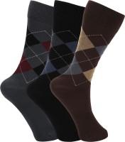 Rupa Men's Wear - Rupa Footline Men's Glean Length Socks(Pack of 3)