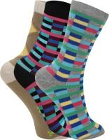 Women's Accessories - Rupa Footline Women's Glean Length Socks(Pack of 3)