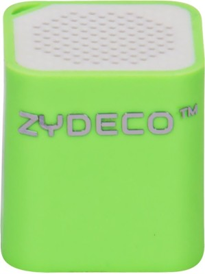 zydeco Smart Box Bluetooth Speaker Portable Bluetooth Mobile/Tablet Speaker(Green, 2.0 Channel)