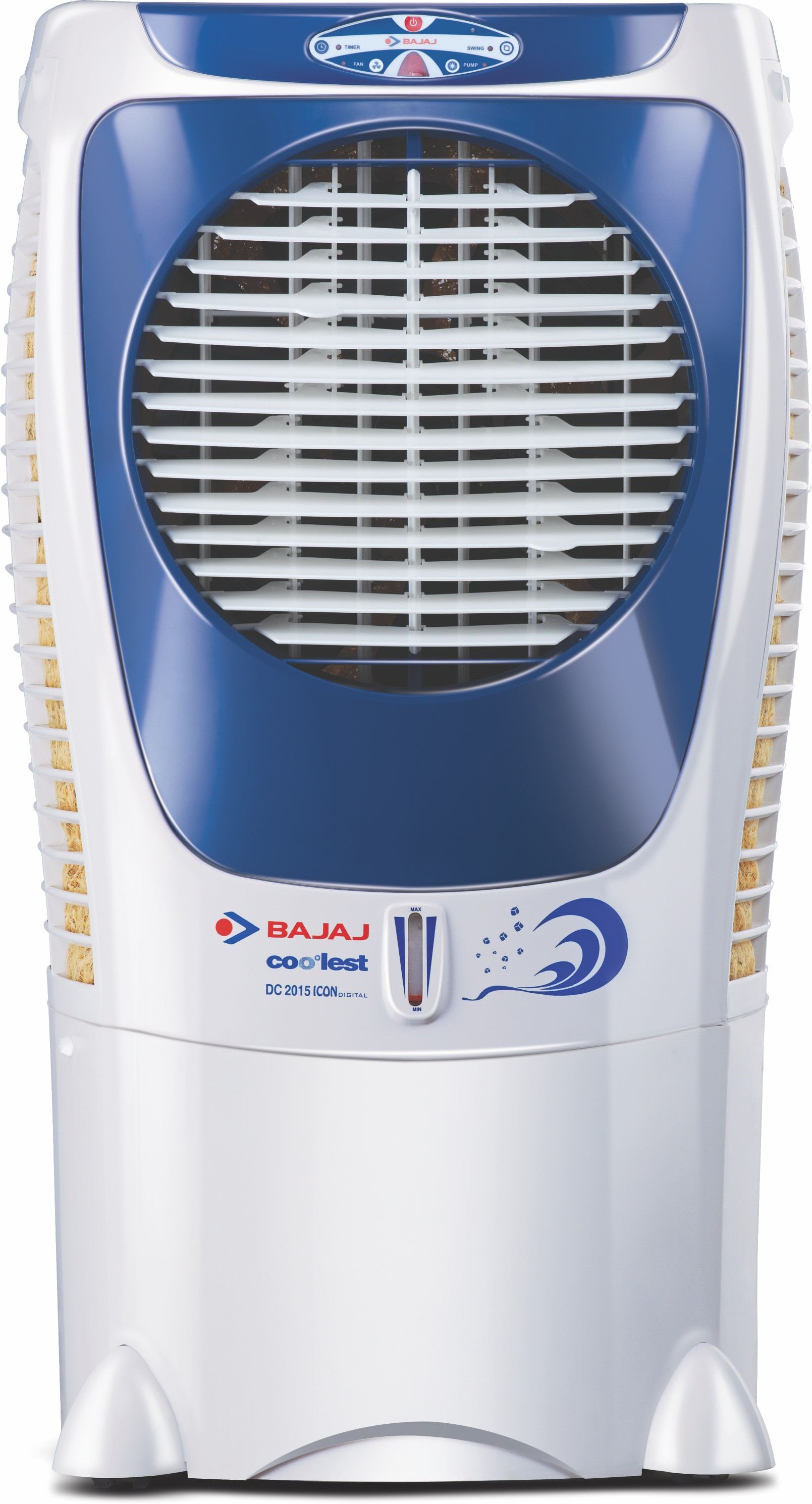 Bajaj DC 2015 Icon Digital Desert Air Cooler(White, Blue, 43 Litres)   Air Cooler  (Bajaj)