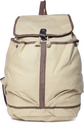 Campus Sutra Multipurpose Bag(Beige, 2 L)