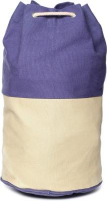 Campus Sutra Multipurpose Bag(Beige, Blue, 2 L)