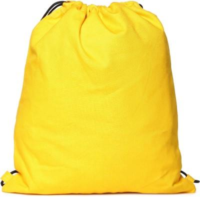 Campus Sutra Multipurpose Bag(Yellow, 1 L)