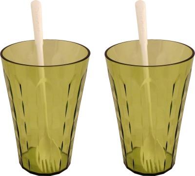 Tupperware Glass Set(475 ml, 475 ml, Multicolor, Pack of 4)