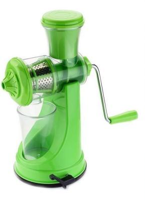 Divine Green with Steel Handle Fruit & Vegetable Juicer Plastic, Steel Hand Juicer(Green Pack of 1) at flipkart