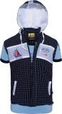 Seals Half Sleeve Printed Boys Jacket