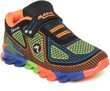 Maxis Boys Lace Running Shoes (Orange)