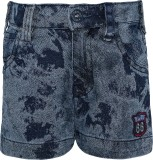Seals Short For Girls Casual Printed Den...