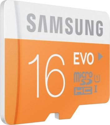 Blue Lotus Samsung UHS-1 16 GB MicroSDHC Class 10 48 MB/s Memory Card