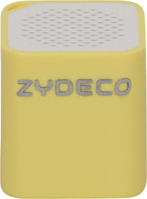 zydeco Smart Speaker Portable Bluetooth Mobile/Tablet Speaker(Yellow, 2.0 Channel)