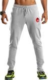 Omtex Solid Men's Grey Track Pants
