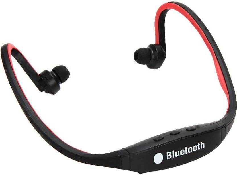 GS BS91c-R6 Wireless Bluetooth Headset With Mic(Multicolor)