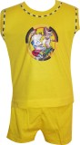 Cute Raskals Vest For Boys Cotton (Yello...
