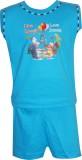 Cute Raskals Vest For Boys Cotton (Blue)